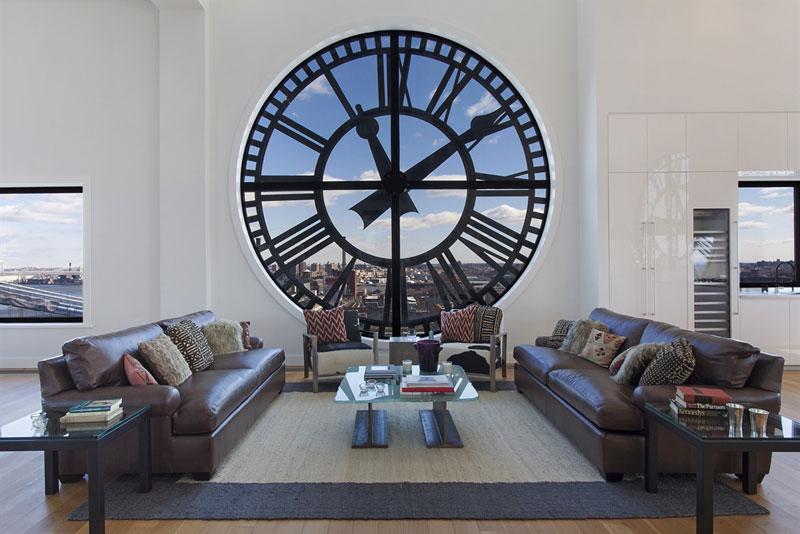 clock tower penthouse brooklyn new york 1 Elegant Bathtubs Made Entirely of Wood