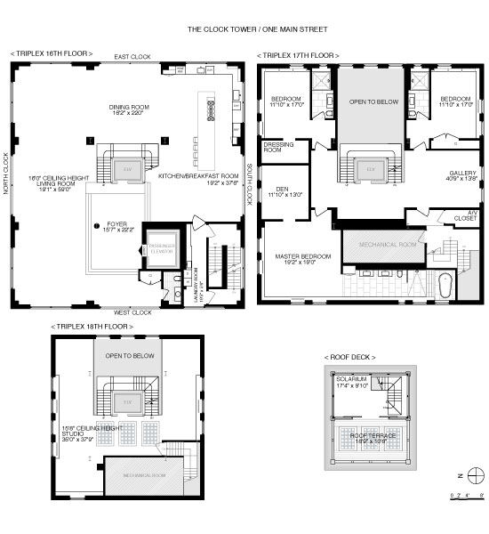 clock tower penthouse floor plans brooklyn new york (2)