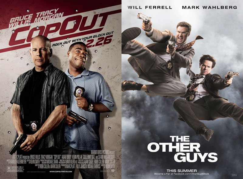 cop out and the other guys twin movies 2010 Strangely Similar Movies Released at the Same Time