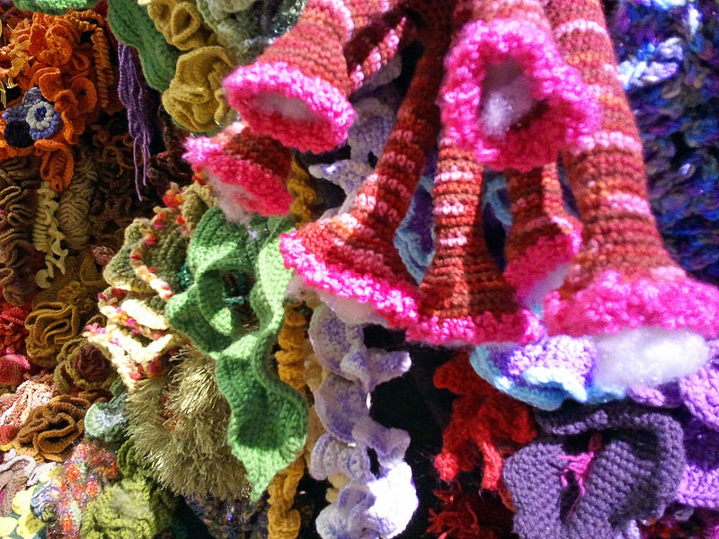 The Crochet Coral Reef Project 25 Pics Twistedsifter