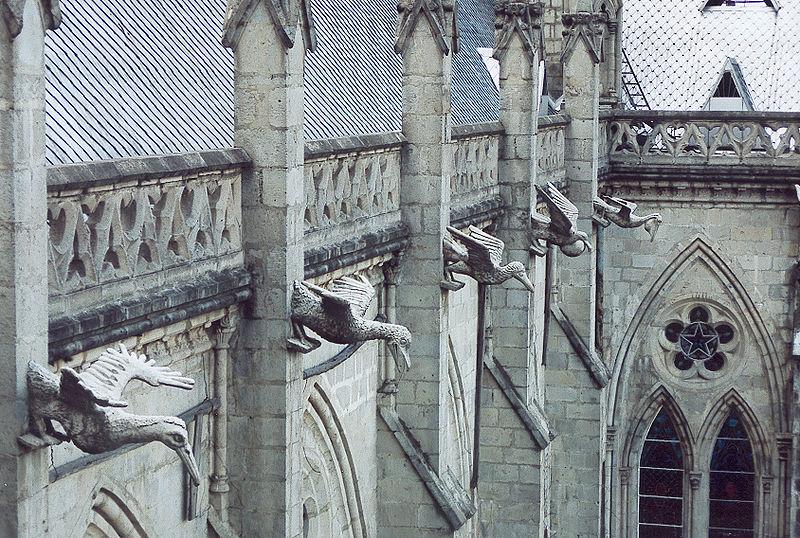 Ecuador Gargoyles Quito Cathedral