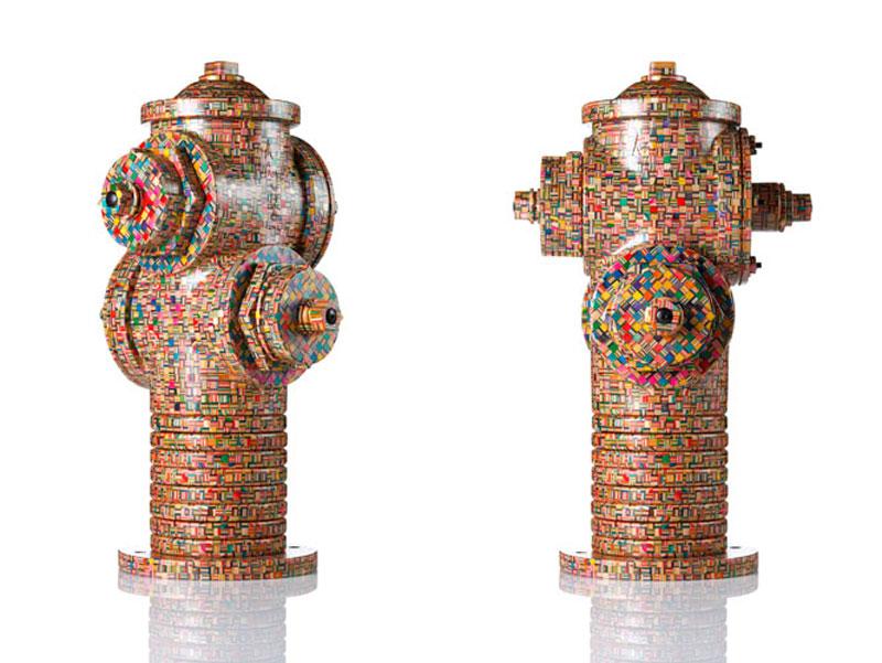 fire-hydrant-made-from-old-skateboard-decks-haroshi