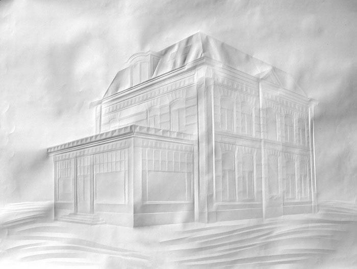 folded paper crease art reliefs simon schubert (3)