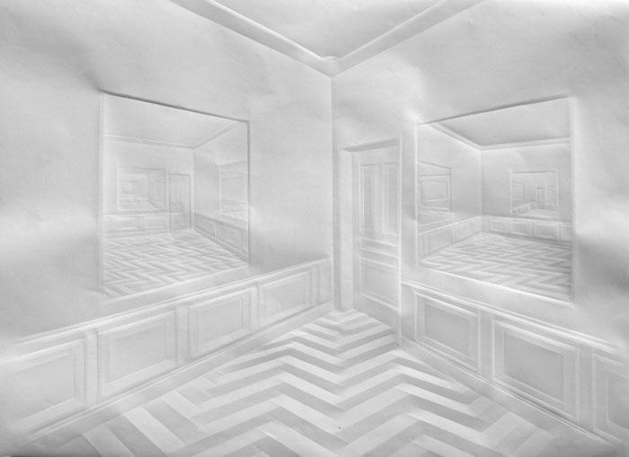 folded paper crease art reliefs simon schubert (5)