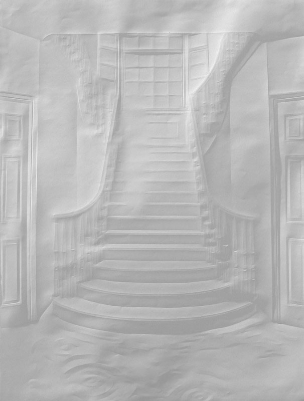 folded paper crease art reliefs simon schubert (7)