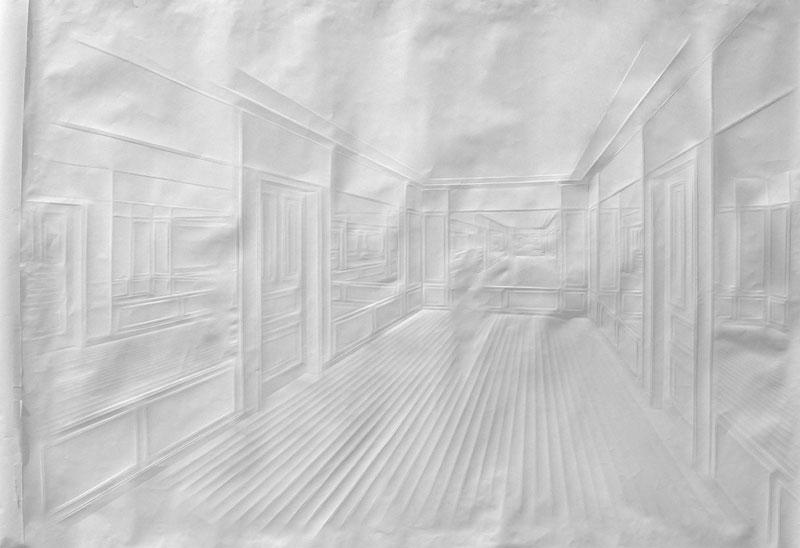 folded paper crease art reliefs simon schubert (8)