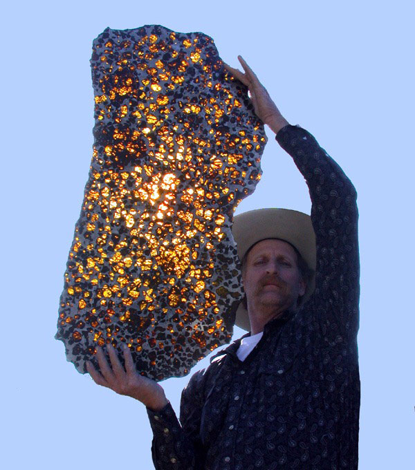 fukang meteorite 7 This is the Most Interesting Mineral You Will See Today