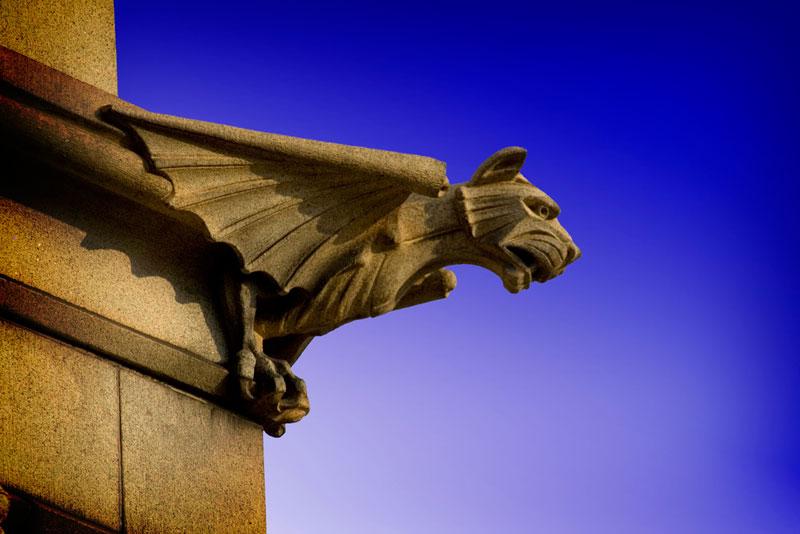 40 Gargoyles and Grotesques Around the World