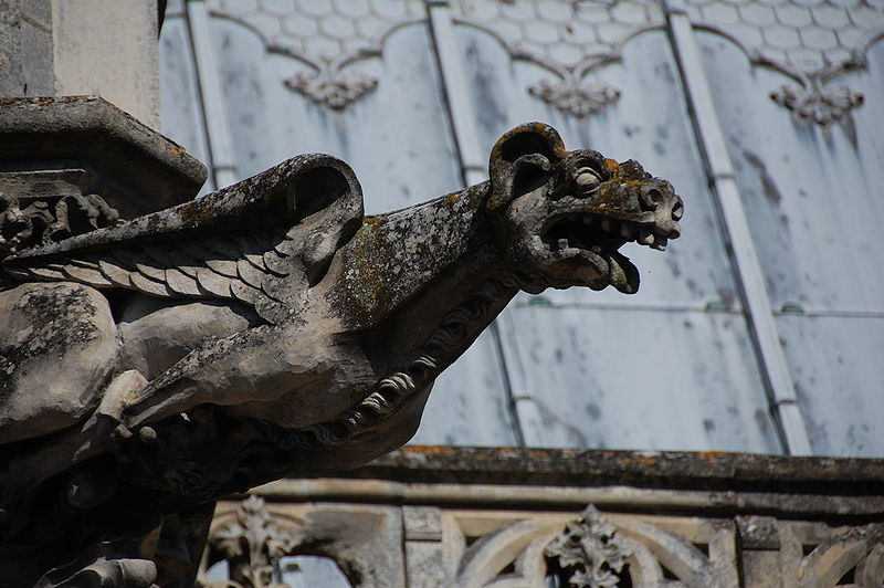 Gargoyle_at_Chateau_dAmboise
