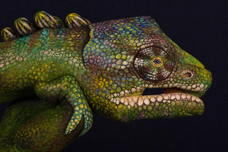 handimals animals painted on hands guido daniele (3)