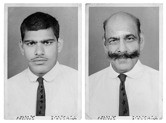 Hari, 1970 & 2011, New Delhi, India irina werning back to the future