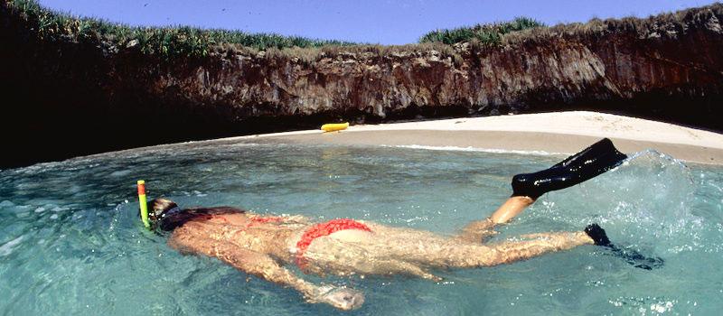hidden beach marietas islands puerto vallarta mexico (4)