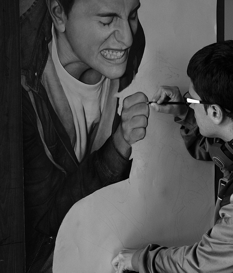 hyperrealistic pencil portraits by diegoKOI art (1)