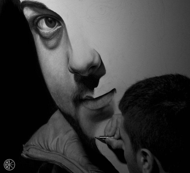 hyperrealistic pencil portraits by diegoKOI art (4)
