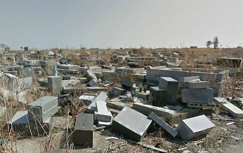 japan after 2011 earthquake and fukukshima google maps street view 5 Haunting Google Street Views of the Great East Japan Earthquake