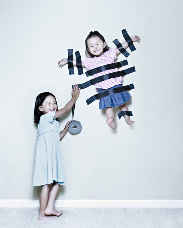 Creative Dad Takes Most Adorable Kid PhotosEver