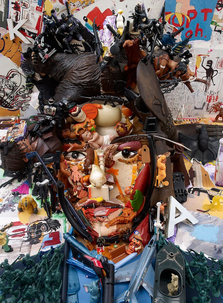 larger than life portraits made from everyday objects anamorphic collages bernard pras (5)