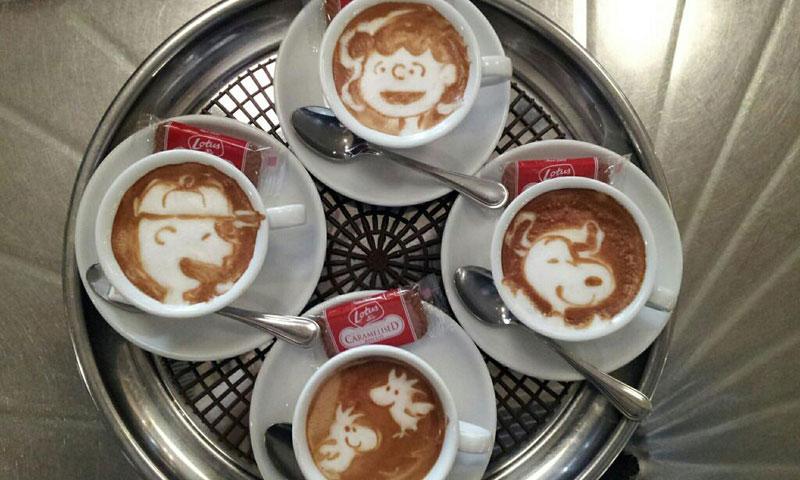 latte coffee art kazuki yamamoto george_10g twitter (12)