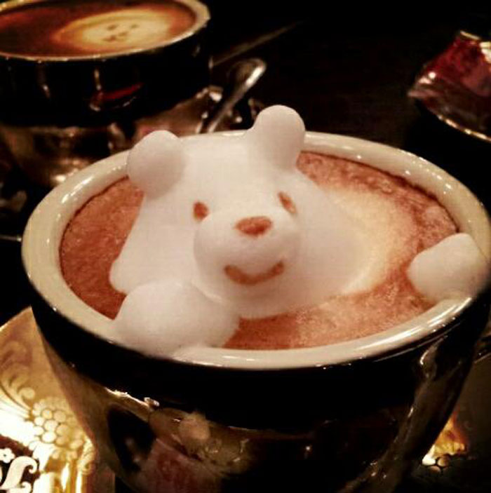 latte coffee art kazuki yamamoto george_10g twitter (2)