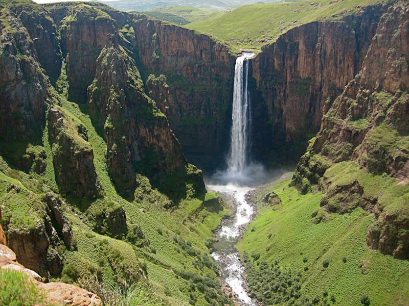 Picture of the Day: Maletsunyane Falls, Lesotho
