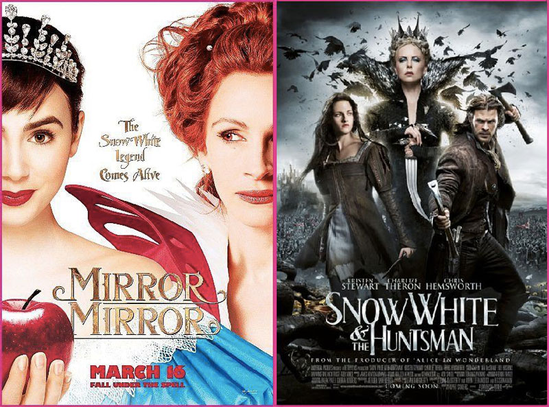 Mirror-Mirror-&-Snow-White-and-the-Huntsman-2012