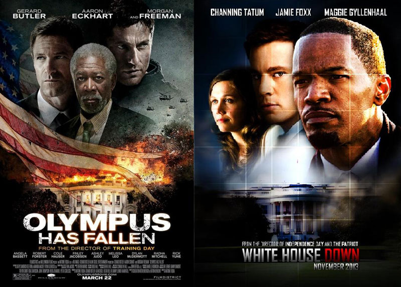 Olympus-Has-Fallen-&-White-House-Down-2013