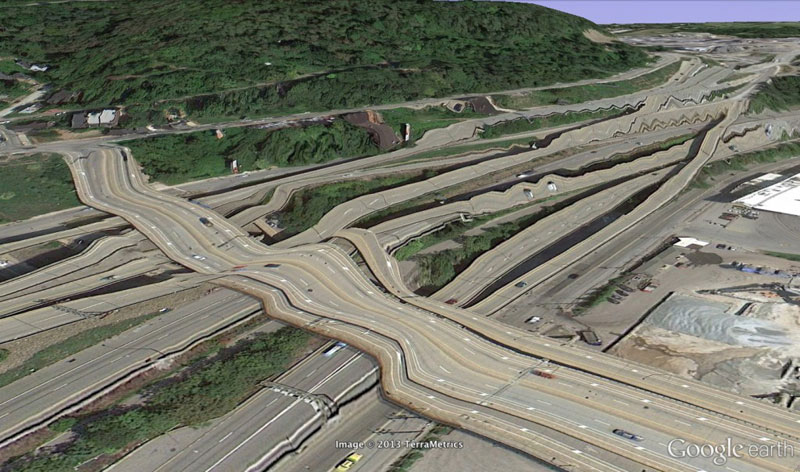 pittsburgh google earth glitches errors clement valla