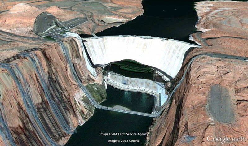 powell-google earth glitches errors clement valla