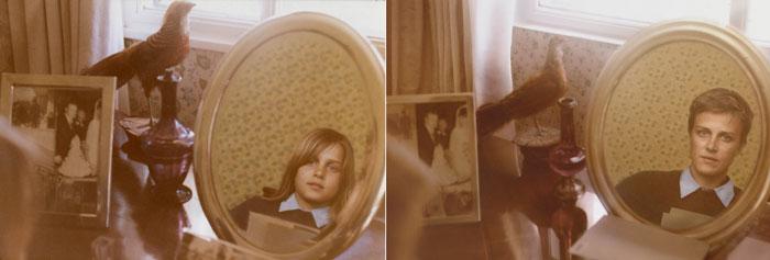 recreating childhood photos irina werning  Majo 1983  2011 Buenos Aires