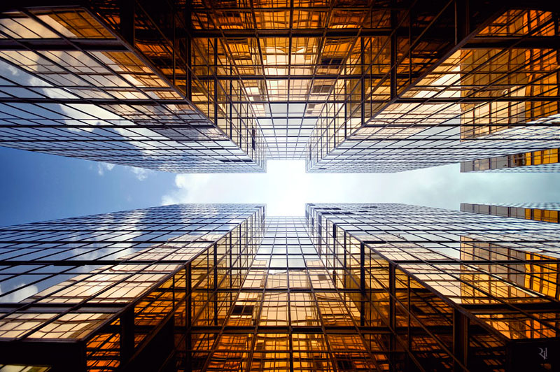 romain jacquet-lagreze vertical horizon looking skywards hong kong skyscrapers (4)