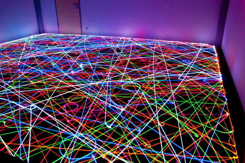 This is What Happens When You Put LEDs on a Roomba