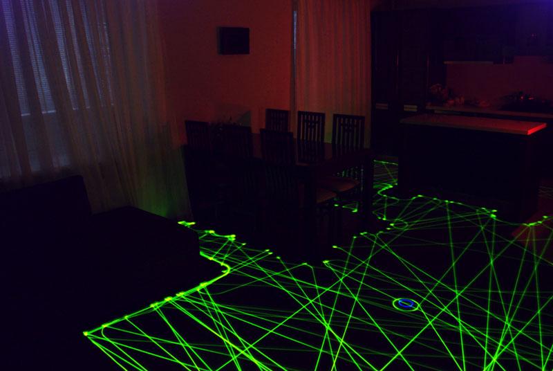 roomba floor path long exposure light painting (4)