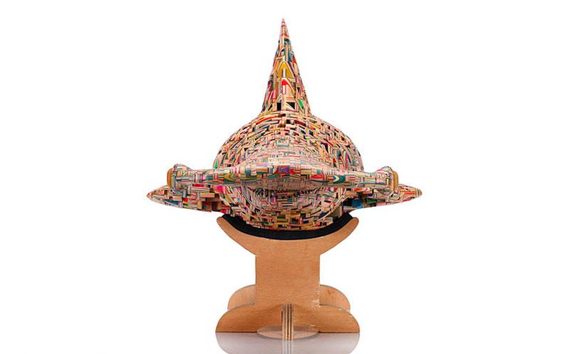 shark sculpture made from old skateboard decks haroshi 4 11 Sculptures Crafted from Old Skateboard Decks