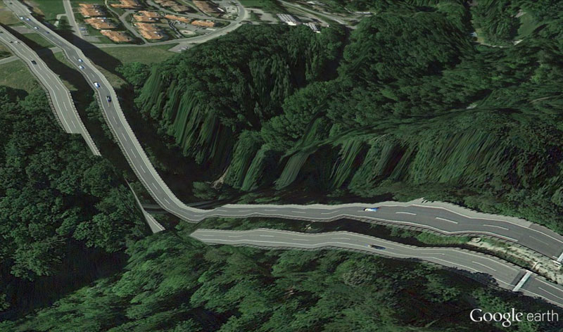 switzerland-google earth glitches errors clement valla