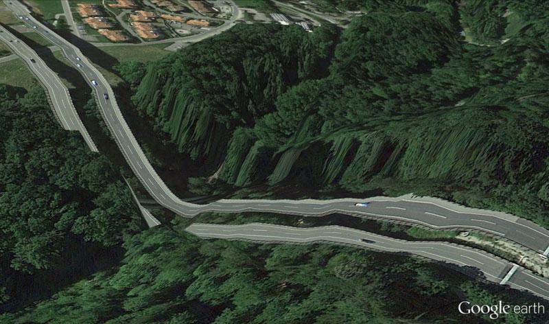 switzerland-google earth glitches errors clement valla