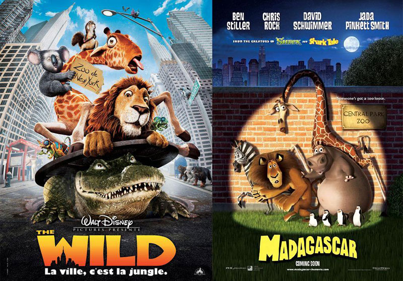 The-Wild-(2006)-&-Madagascar-(2005)