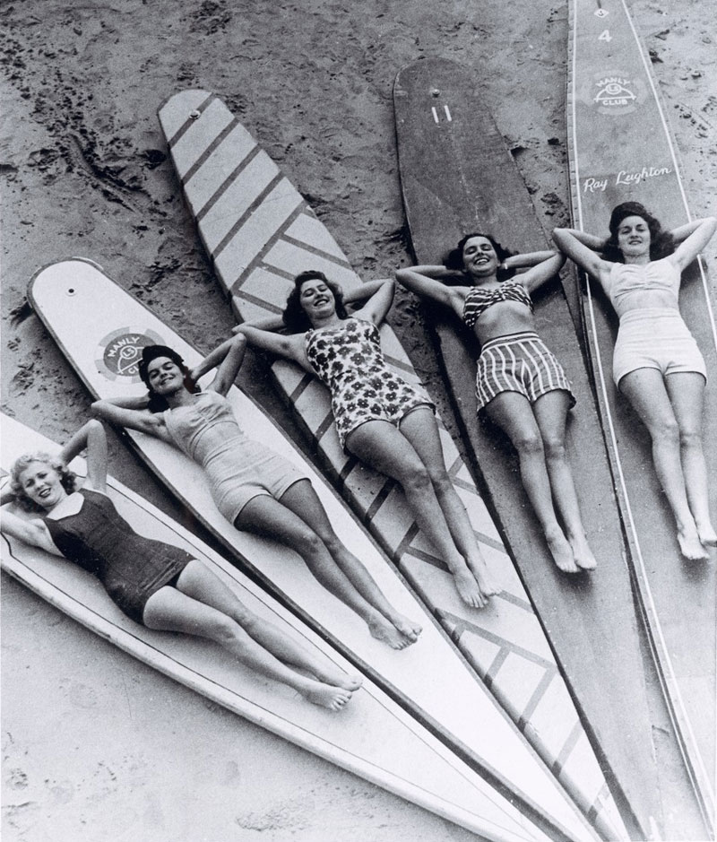 Picture of the Day: Vintage Surf Sirens