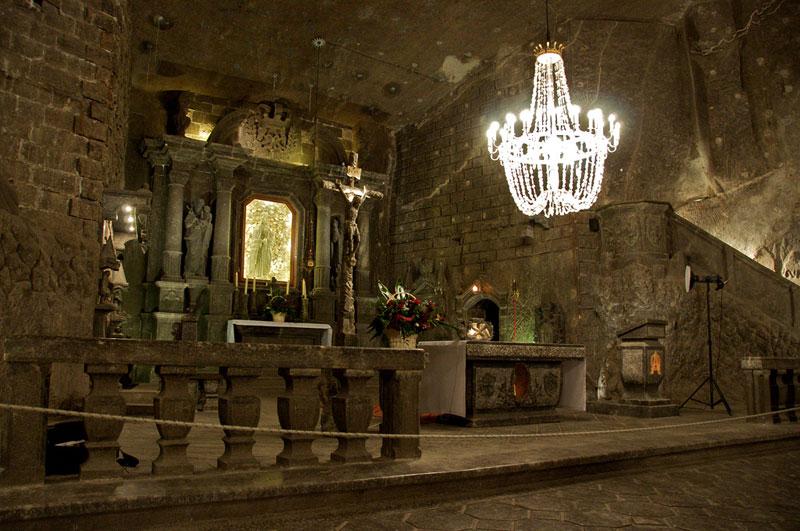 Poland's Underground Salt Cathedral «TwistedSifter