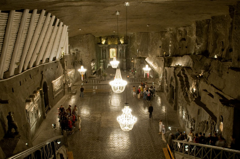 wieliczka salt mine krakow poland 5 Lost Egyptian City Found Underwater After 1200 Years