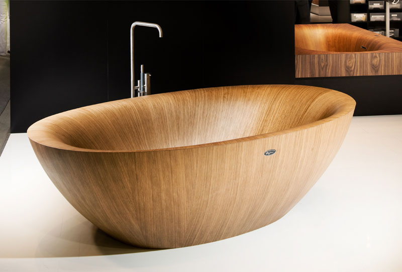 elegant bathtubs made entirely of wood twistedsifter