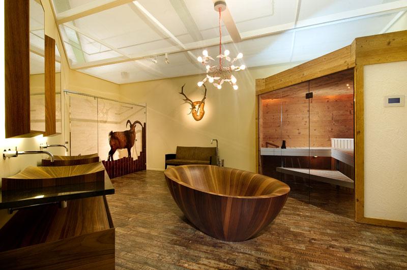 Wooden Bathtubs All Wood Baths By Alegna (11)