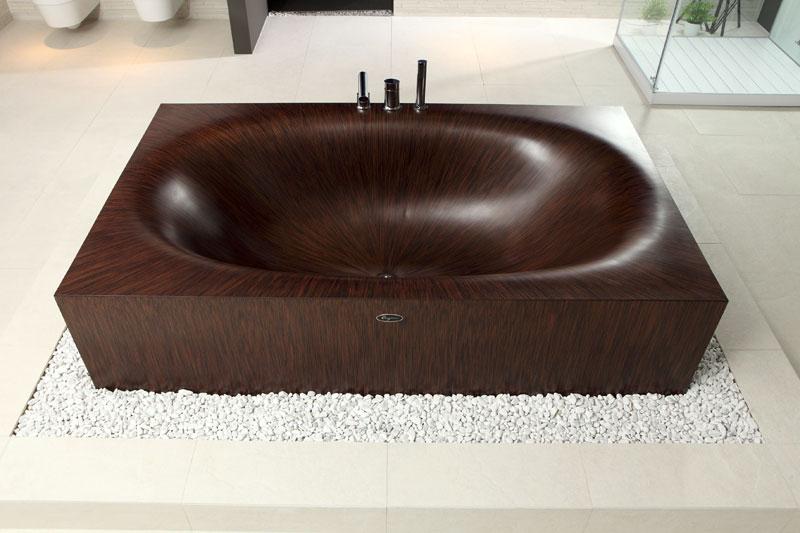 wooden bathtubs all wood baths by alegna (8)