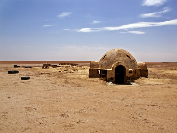 abandoned star wars tatooine movie set tunisia desert lars homestead  (2)