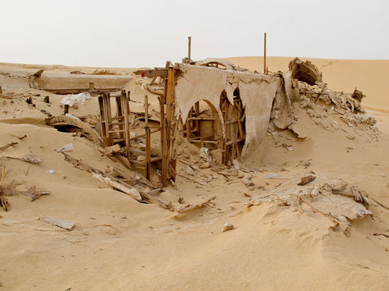 abandoned star wars tatooine movie set tunisia desert lars homestead  (4)
