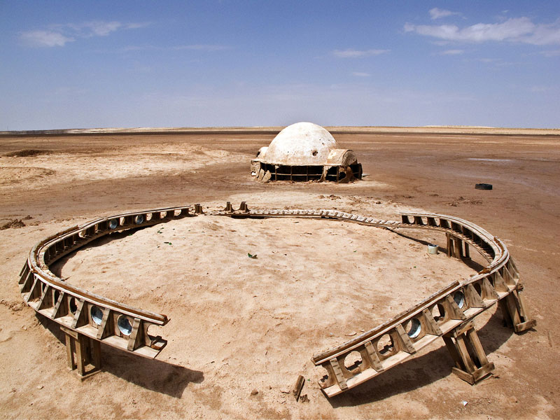abandoned star wars tatooine movie set tunisia desert lars homestead  (6)