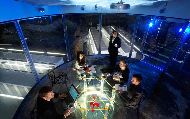wikileaks office. Bahnhof Data Center Isp In Former Nuclear Bunker From Cold War Stockholm Sweden (13) Wikileaks Office