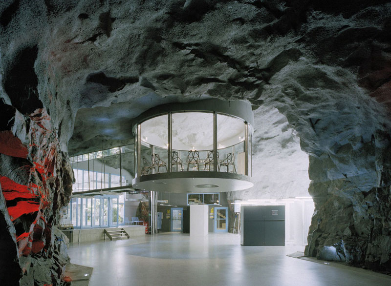 The Data Center Inside a Cold War Nuclear Bunker