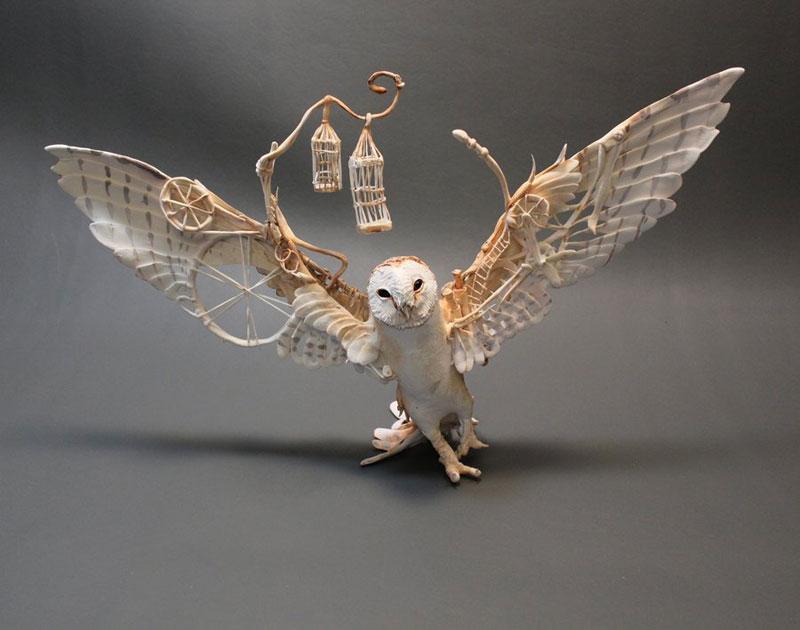 fantasy creature sculptures by ellen jewett (1)