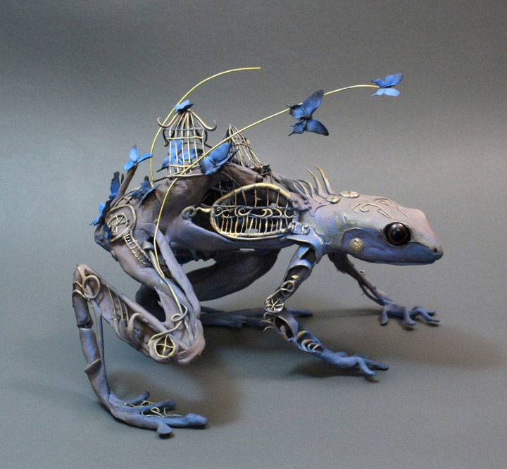 fantasy creature sculptures by ellen jewett (10)