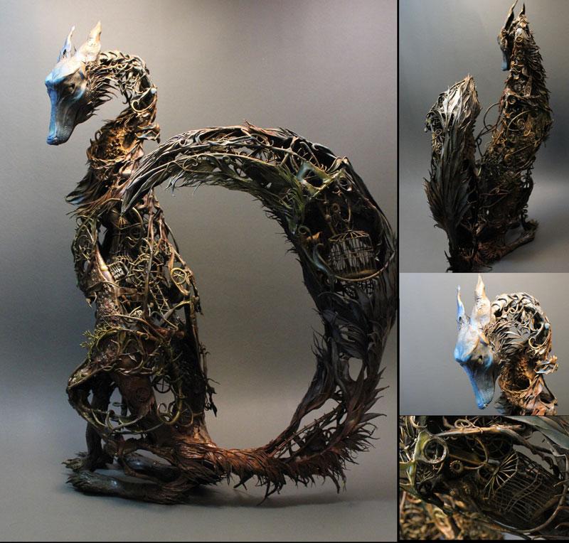 fantasy creature sculptures by ellen jewett (11)